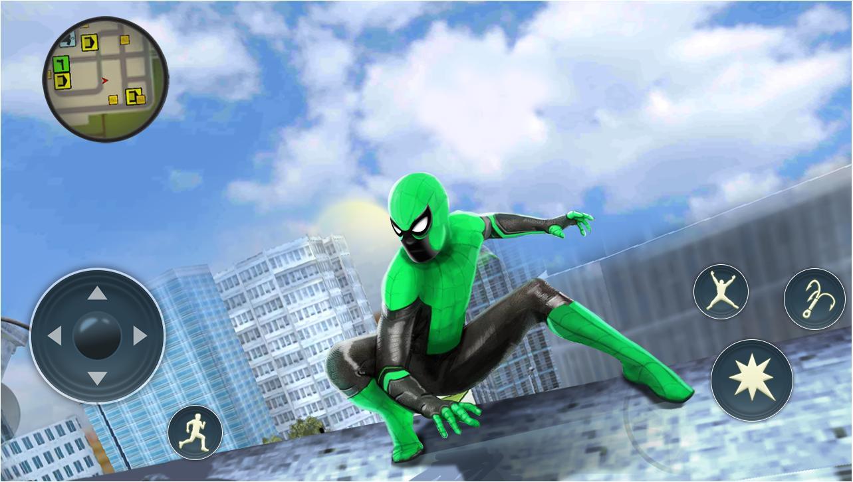 黑帮犯罪城蜘蛛绳超级英雄手机版