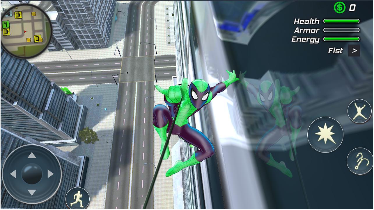 黑帮犯罪城蜘蛛绳超级英雄最新版下载