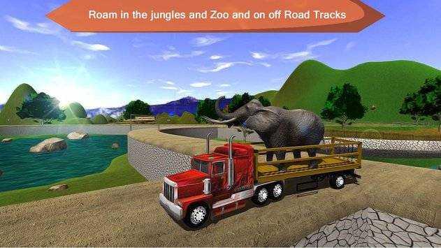 野生动物运输卡车模拟器内购破解版