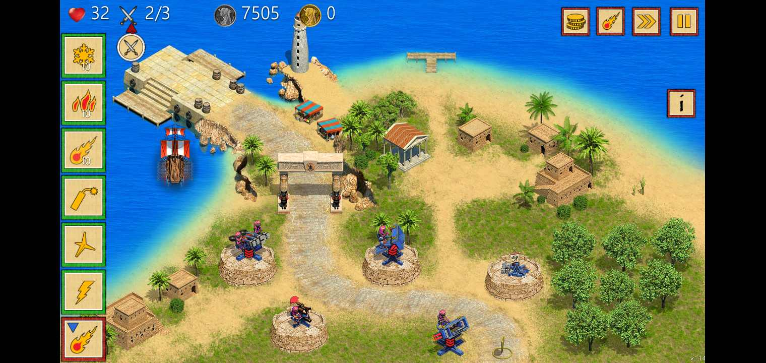 埃及防御TD:塔防游戏破解版