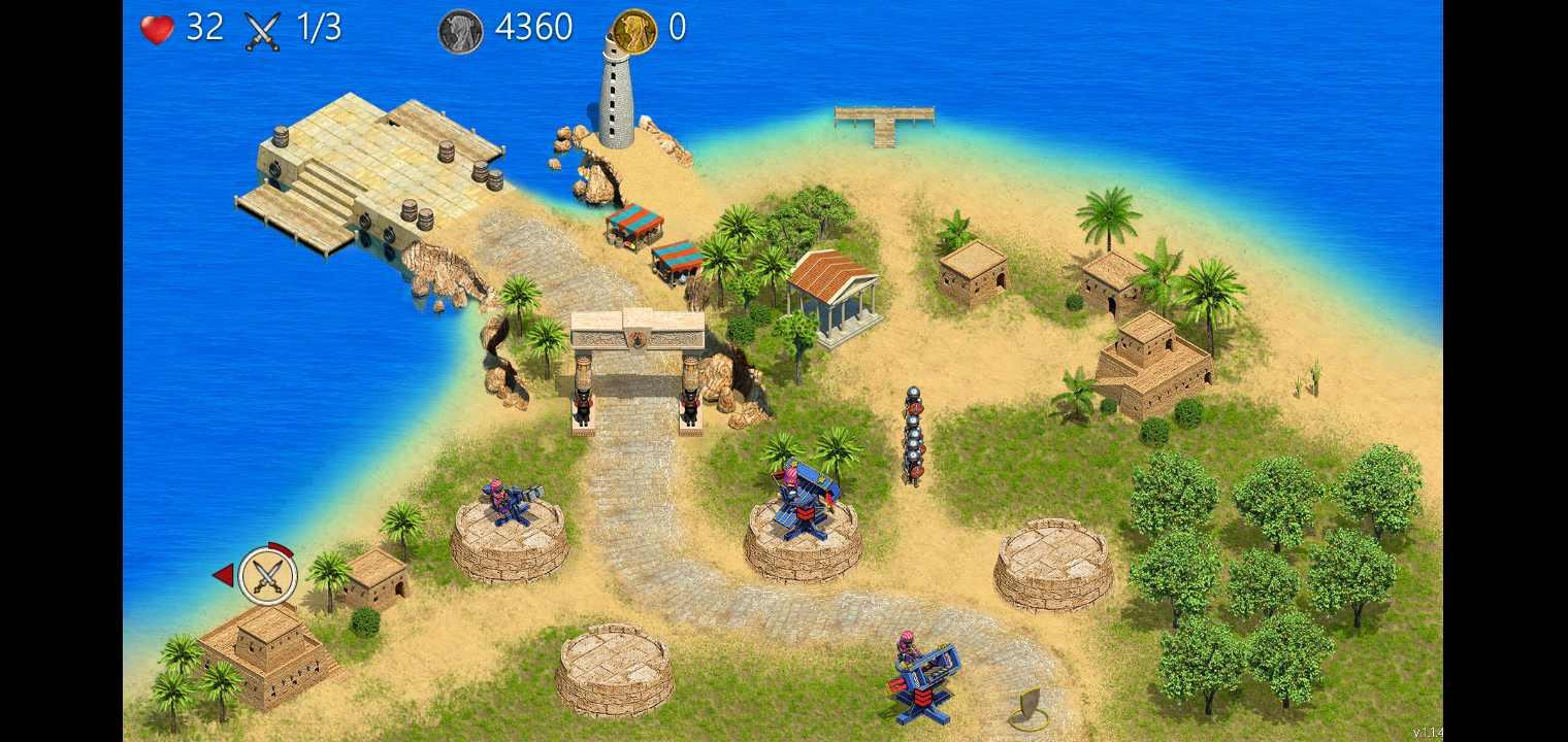 埃及防御TD:塔防游戏安卓版