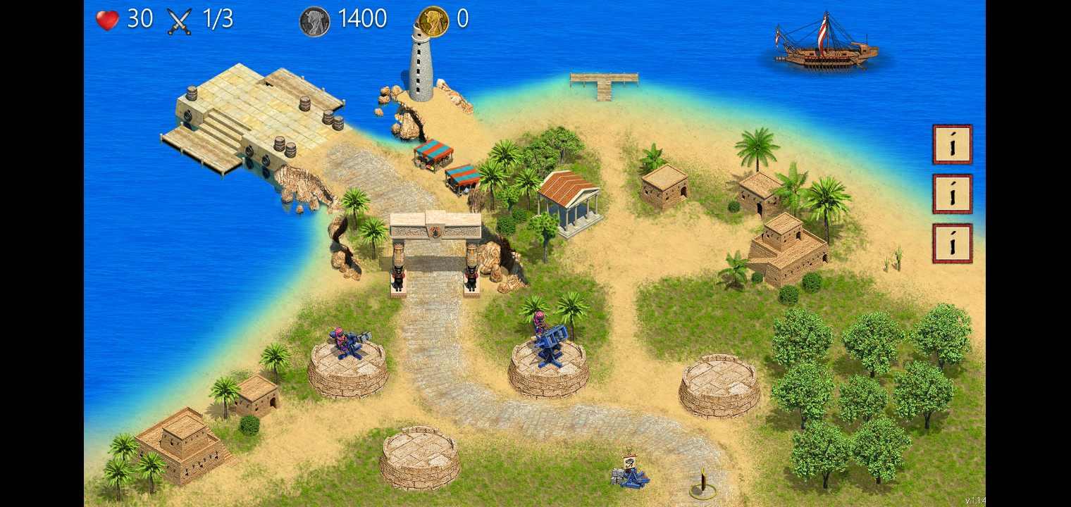 埃及防御TD:塔防游戏无限金币破解版
