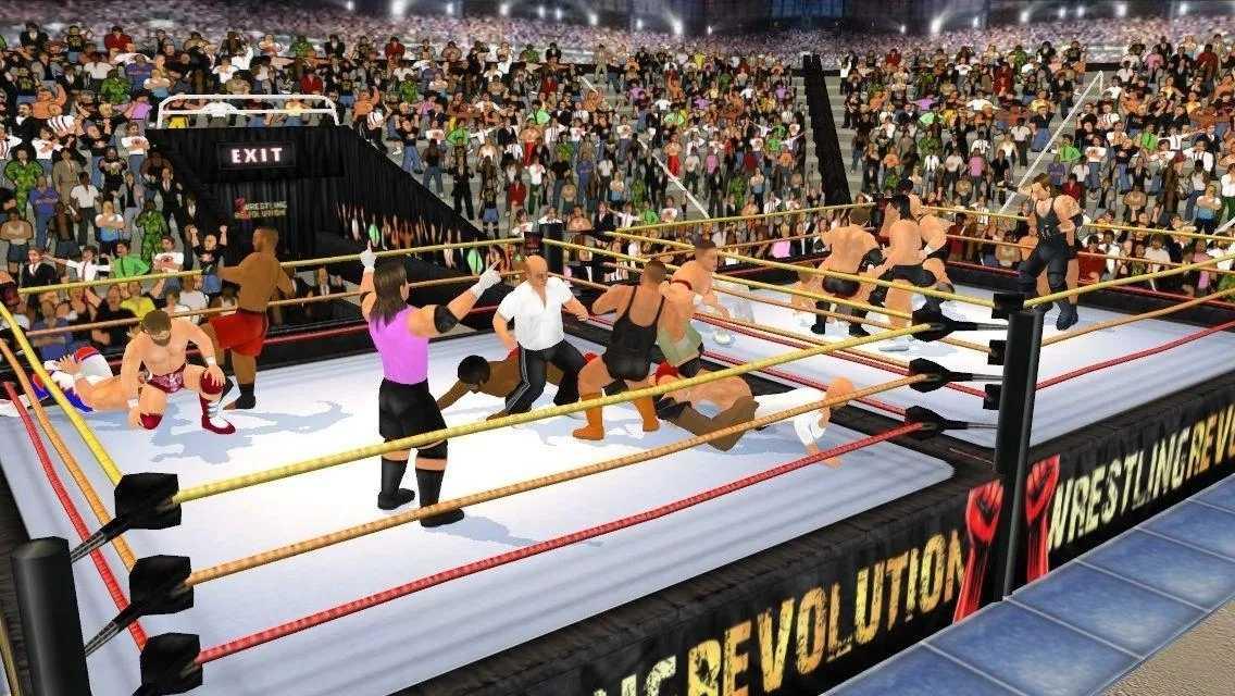 摔角革命3D破解版下载