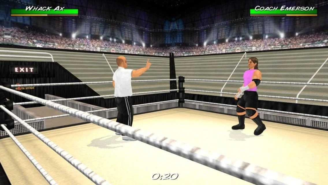 摔角革命3D汉化破解版