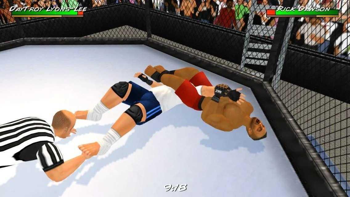 摔角革命3D完整版破解