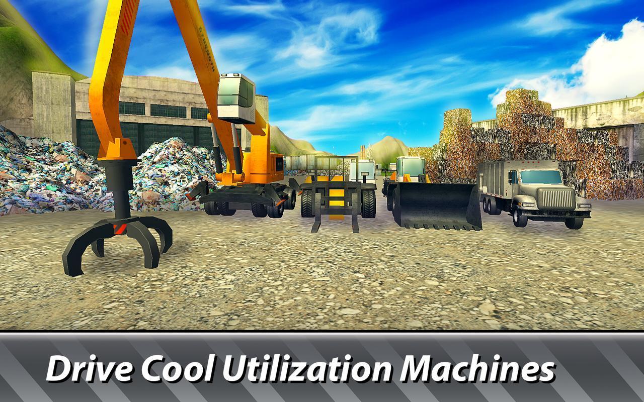 垃圾车模拟器汉化版破解版