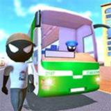 火柴人巴士模拟器无限金币破解版