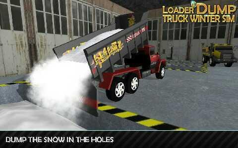 装载机和自卸车冬季模拟下载