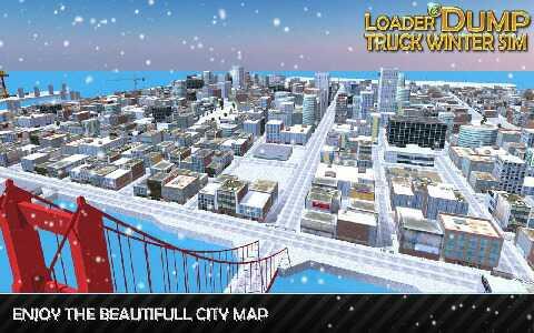 装载机自卸卡车冬季模拟游戏安卓版下载v1.2