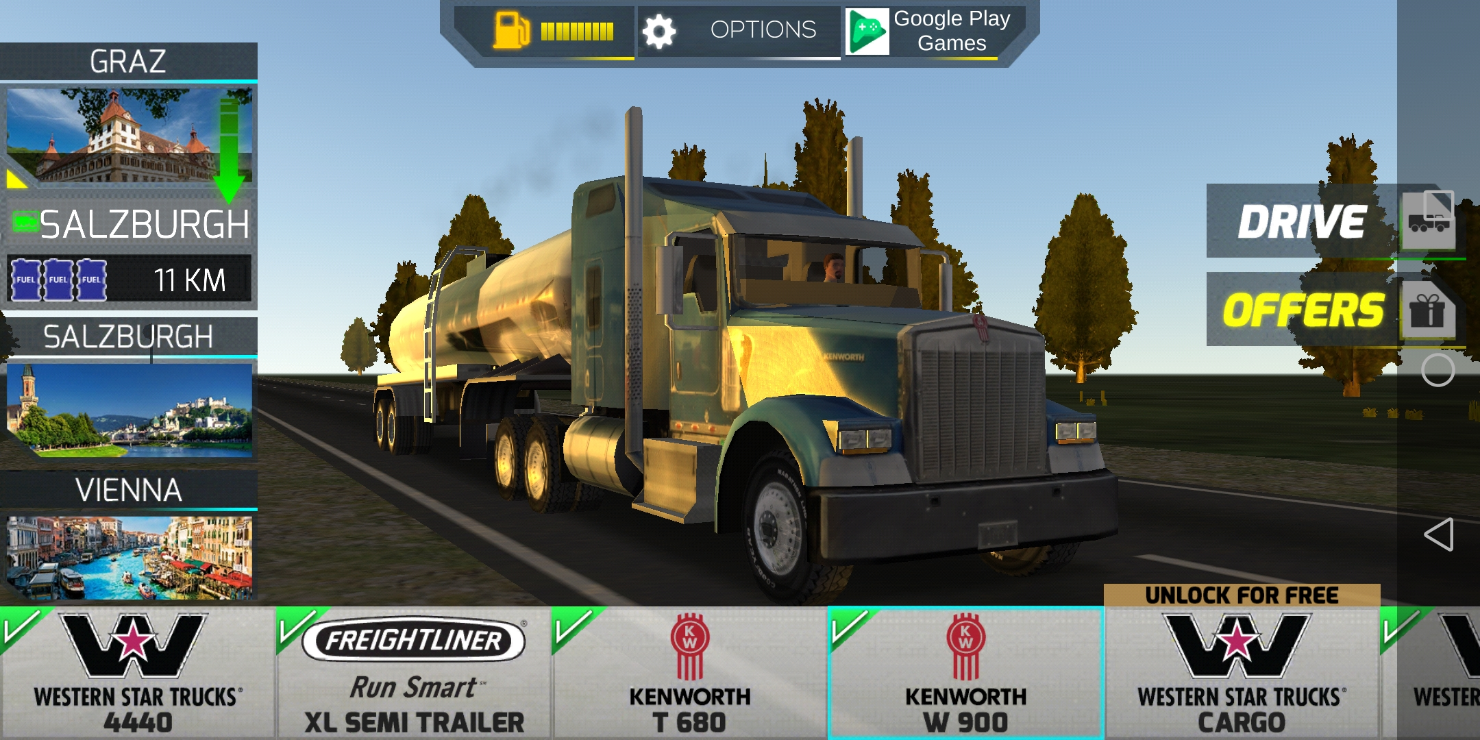 欧洲卡车模拟2免费下载