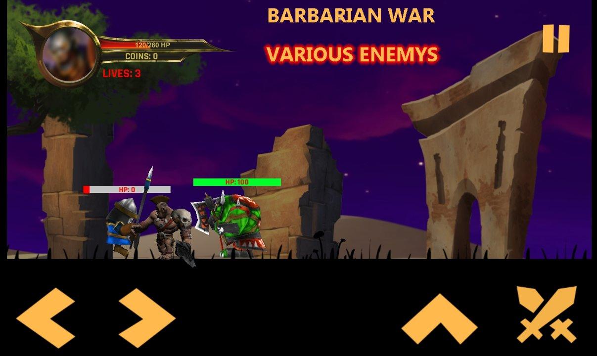 野蛮人战争安卓最新版