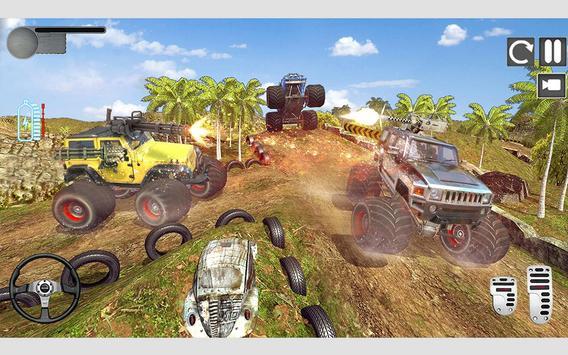 怪物卡车射击游戏正式版