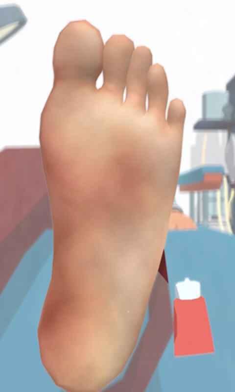 老板修个脚