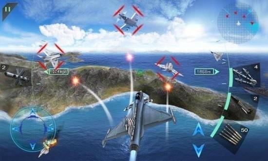 空中决战3D无限金币钻石版下载
