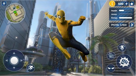 飞行蜘蛛侠救援英雄3D青青热久免费精品视频在版下载
