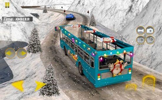 雪地巴士2021全关卡解锁版