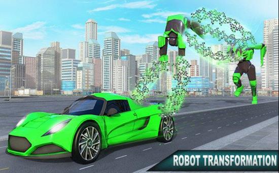 青蛙忍者英雄机器人游戏