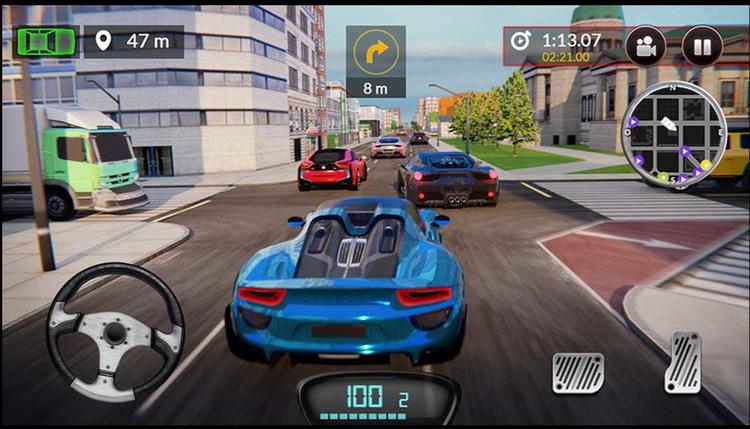 极品疯狂赛车游戏最新安卓版