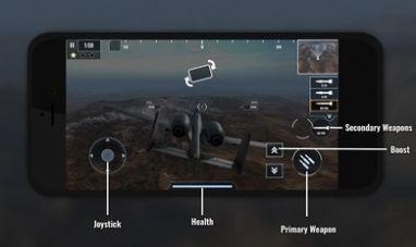战斗机飞行员重火力破解版