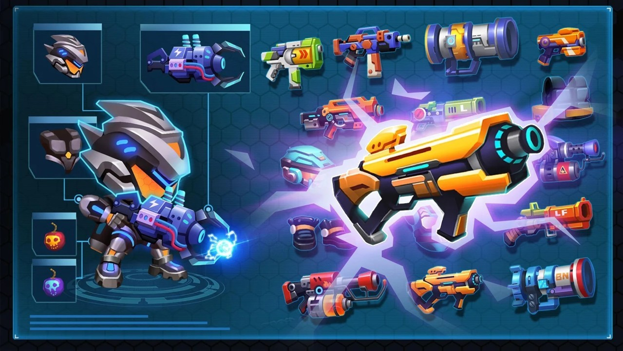 枪战外星战场全武器解锁版