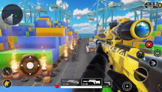 射击战场3D版破解版