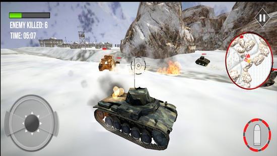 陆军坦克死亡大战游戏