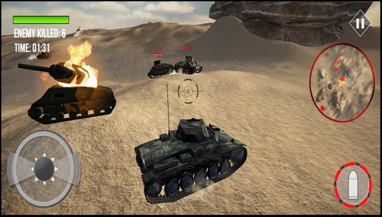 陆军坦克死亡大战手游安卓版