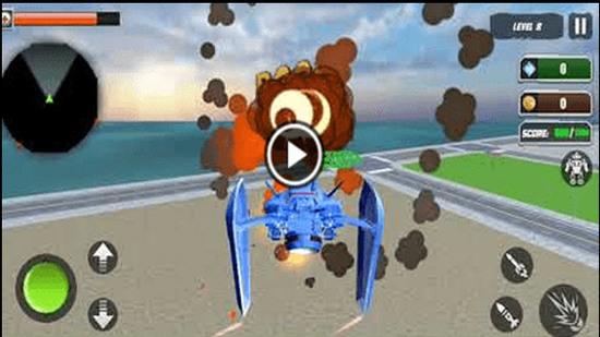 坦克机器人改造战争游戏官网安卓版