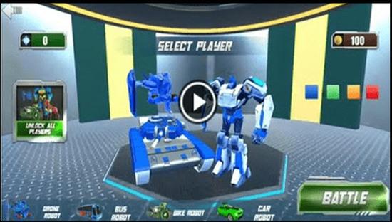 坦克机器人改造战争游戏