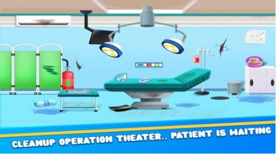 医院清洁游戏