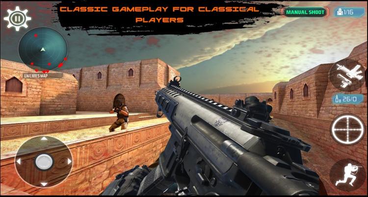 反击枪战游戏
