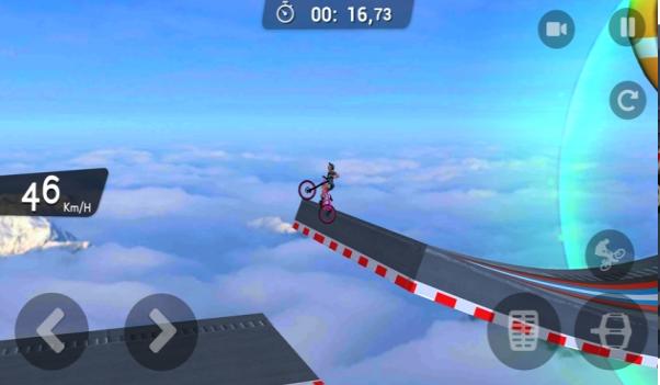 BMX自行车不可能的坡道破解版