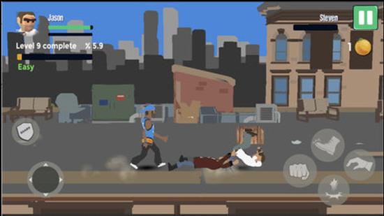街头对决之王游戏无限金币破解版