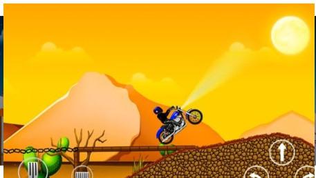 刺激摩托比赛游戏图片1