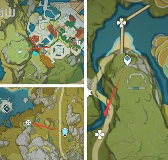 原神家园系统材料 家园材料采集分布地点[多图]图片1