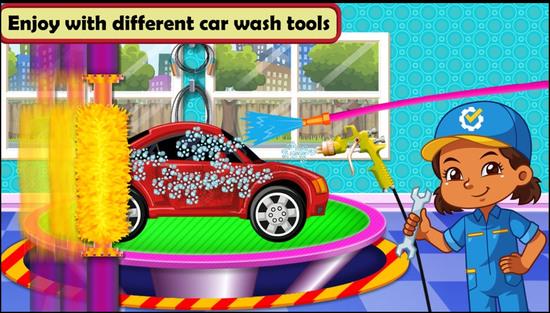 汽车维修车间游戏图片2