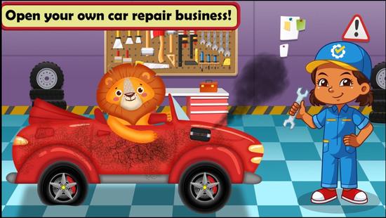 汽车维修车间游戏图片4