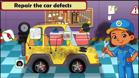 汽车维修车间游戏图片5