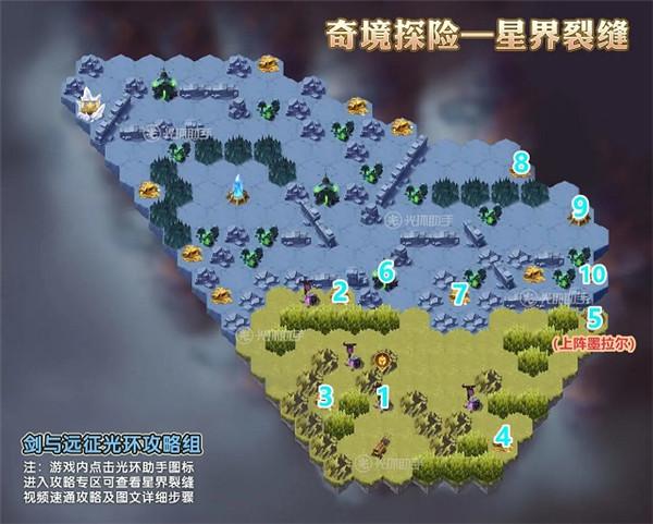 剑与远征星界裂缝攻略:奇境探险星界裂缝通关路线[多图]图片3