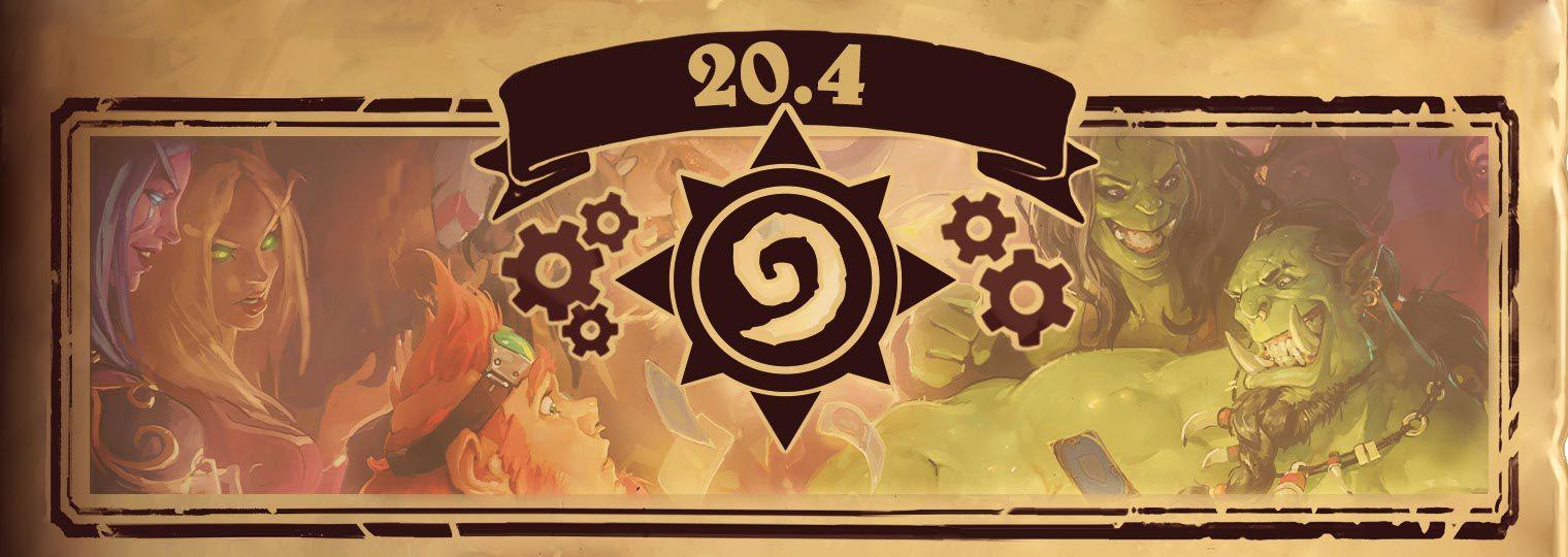 炉石传说20.4版本更新内容:新卡包、新英雄、新玩法介绍[多图]图片1