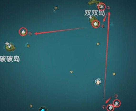 原神回声海螺位置大全:回声海螺位置分布一览[多图]图片2
