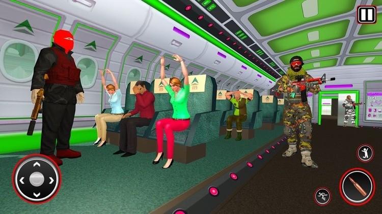 飞机劫持反击游戏图片3