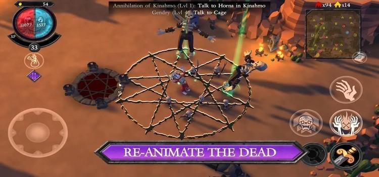 不死军团游戏破解版图3