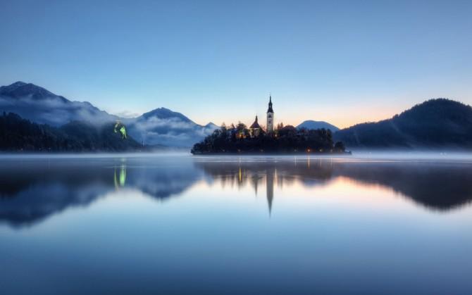魅力斯洛文尼亚风景桌面壁纸下载